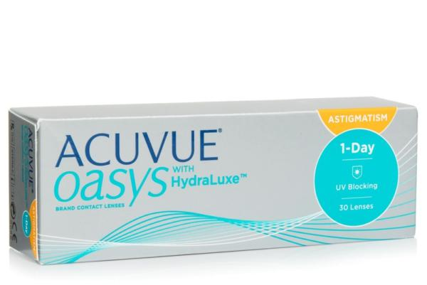 1 DAY ACUVUE Oasis with HydraLuxe for Astigmatism